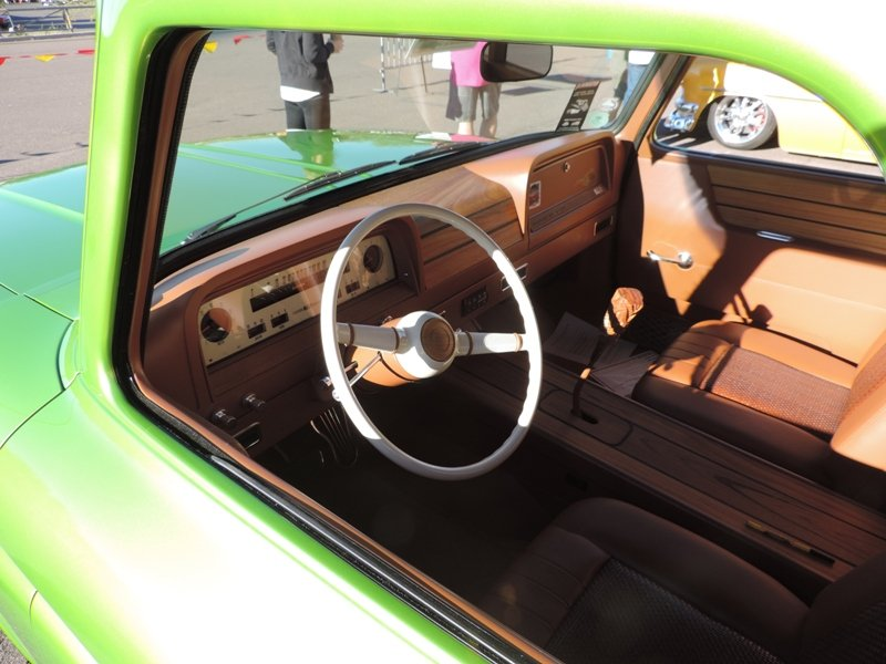Lime Crush Interior