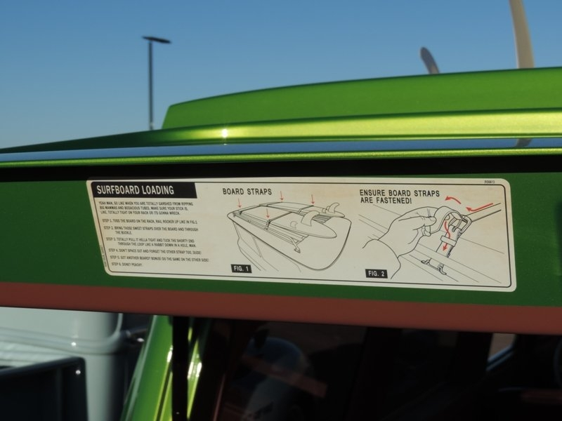 Directions for Roof Rack