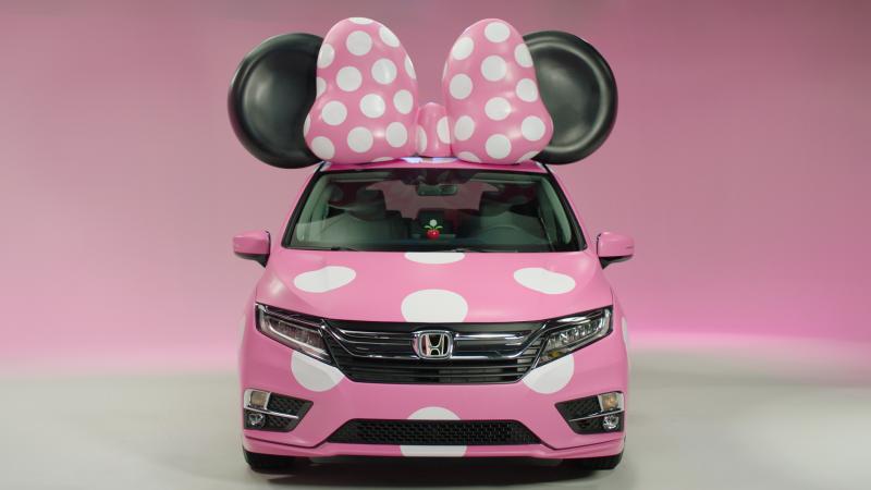 Honda Minnie Van Front