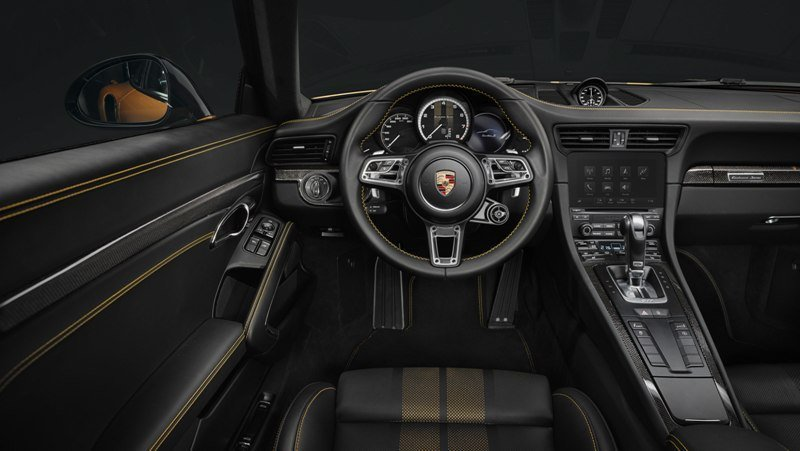 911 Turbo S Exclusive Series Driver's Seat