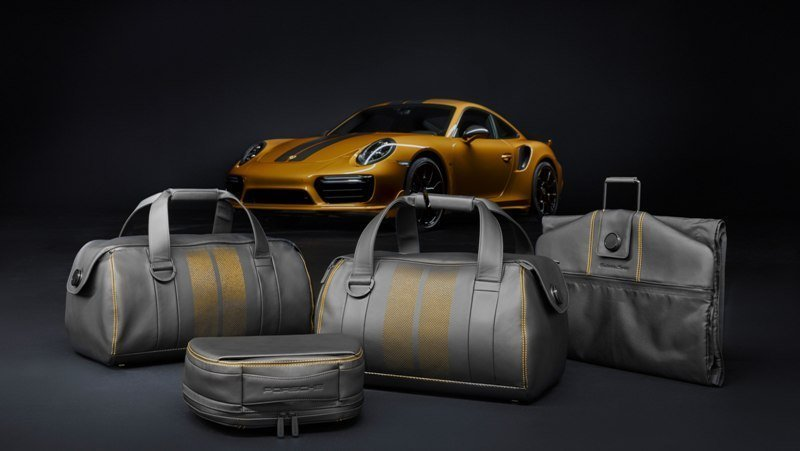 911 Turbo S Exclusive Series Luggage