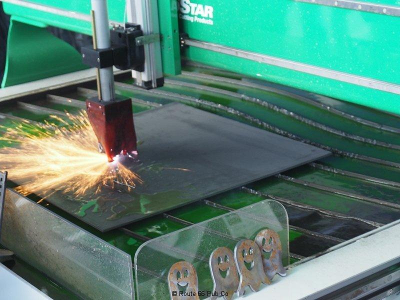 Praxair Plasma Cutter Cutting