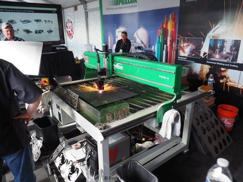 Praxair Plasma Cutter Table 2