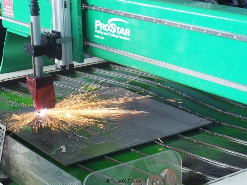 Praxair Plasma Cutter Sparking