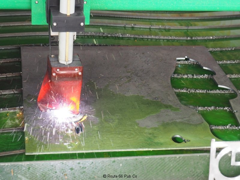 Praxair Plasma Cutter Striking