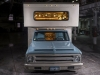 River City Rods 1972 Chevrolet C30 front-night
