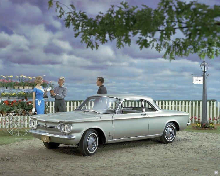 1962 Chevrolet Corvair Monza Club Turbo