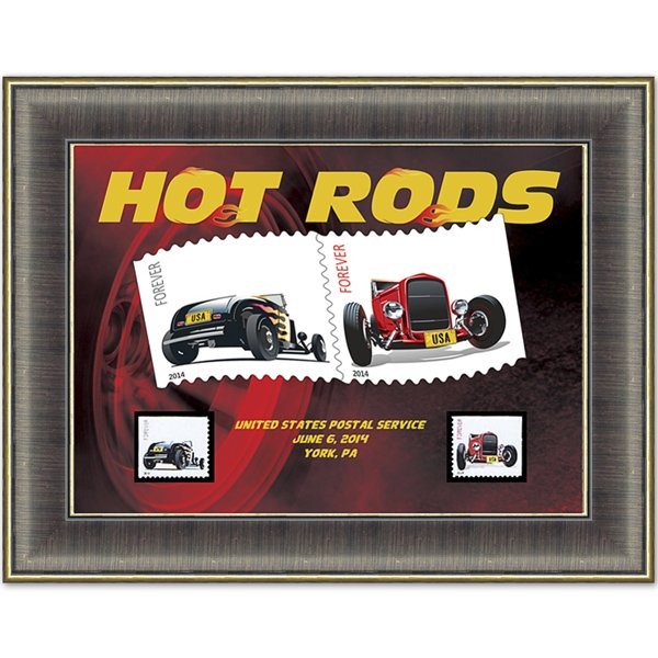 Hot Rod Art Frame