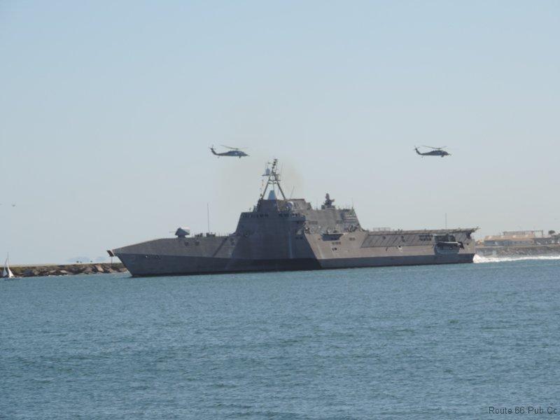 Coronado with 2 helicopters