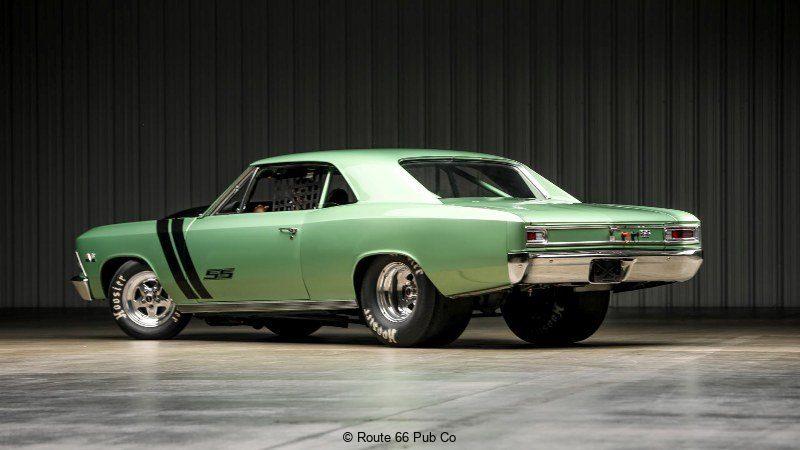 1966 Chevelle Rear View
