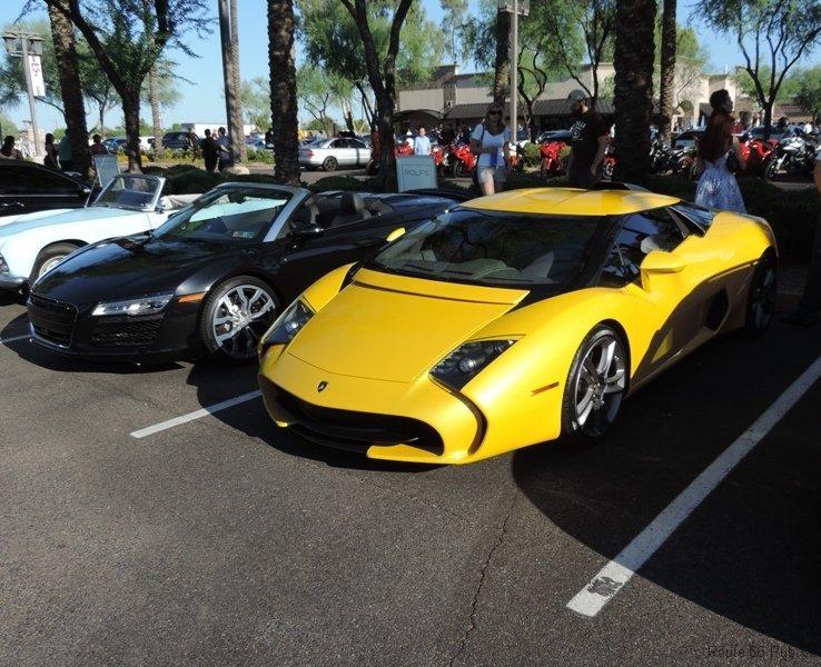 Front View of Lamborghini 5-95 Zagato