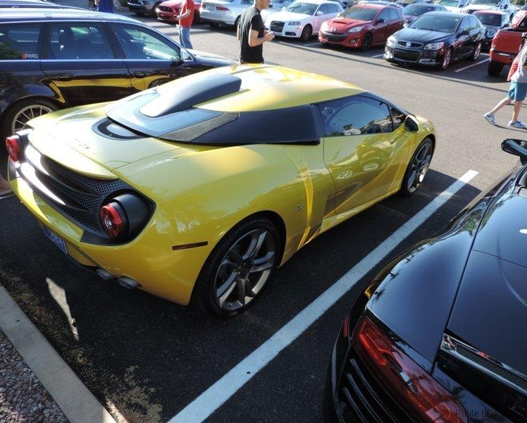 Passenger side of Lamborghini 5-95 Zagato