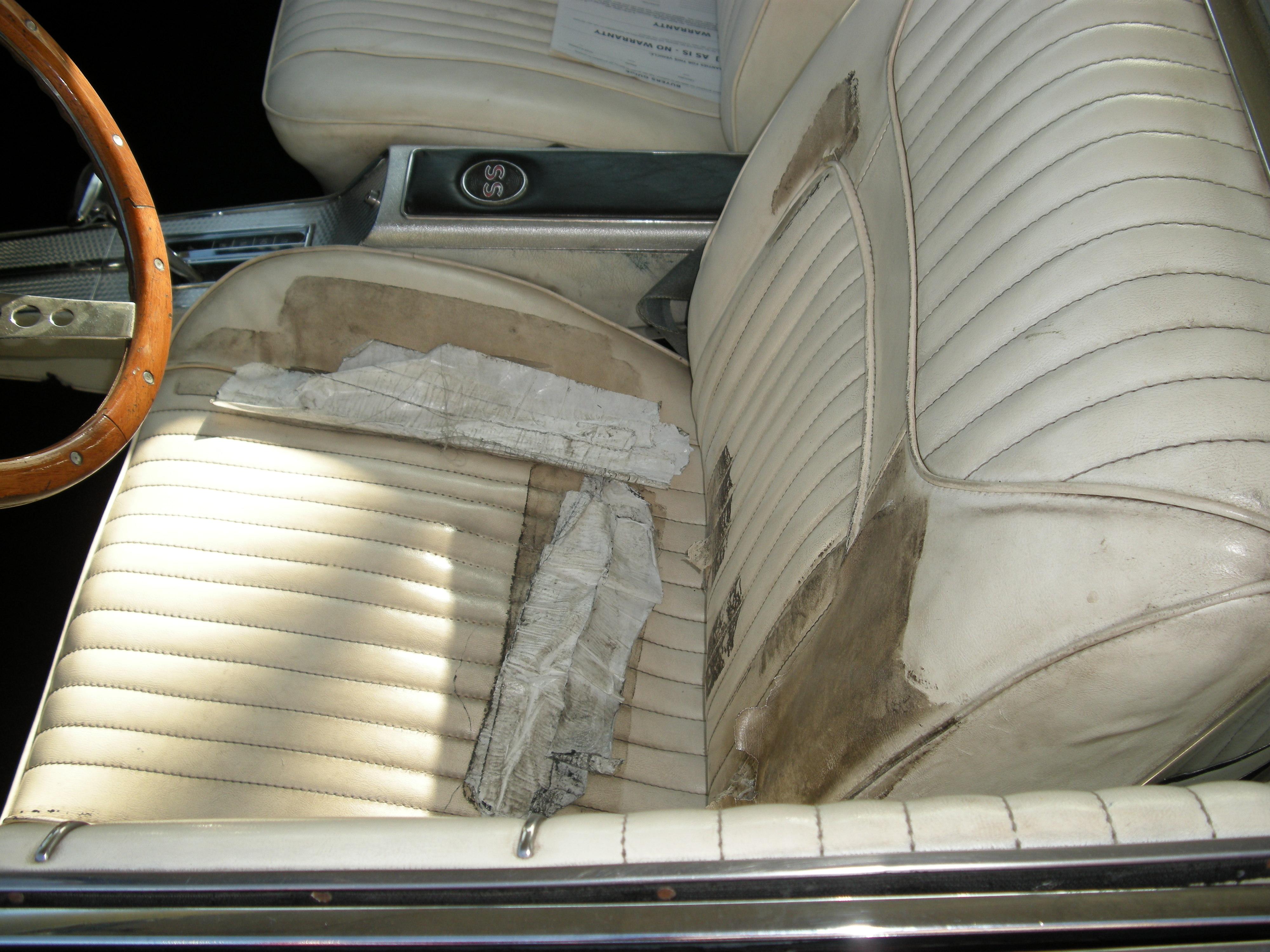 Interior driver seat