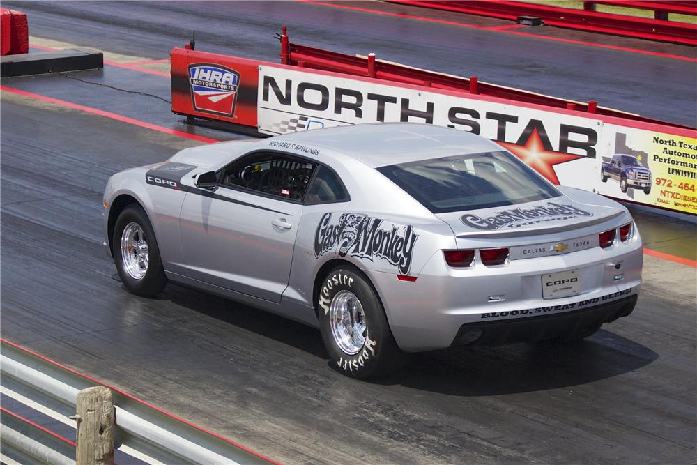 Gas Monkey Garage COPO Camaro Sold at Barrett Jackson - Route 66 Pub Co