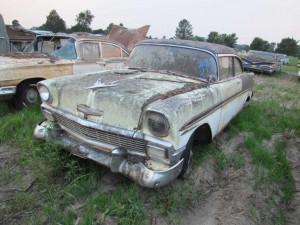 1956 Chevy 4 door sedan