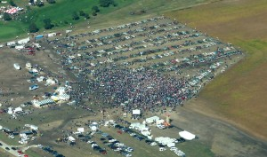 Crowd at Lambrecht Auction