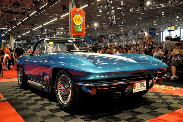 Harley Earls 1963 Corvette Sold Again Route 66 Pub Co