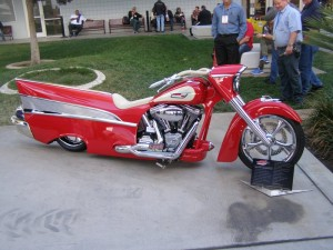 1957 Chevy Bel Air Motorcycle