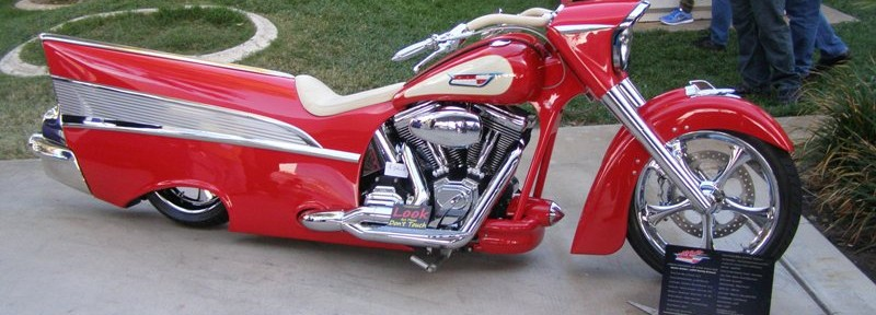 1957 Bel Air Themed Motorcyle is SEMA Sensation