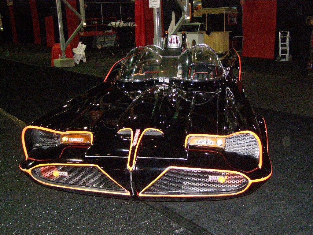 Fronte end of Batmobile