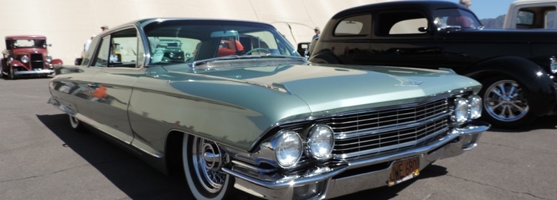 Dan Sobieski's 1962 Cadillac at Goodguys