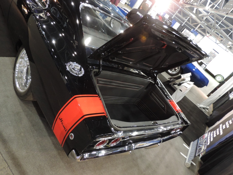 68 Charger trunk