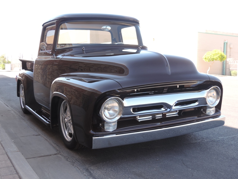 56 Ford Goodguys Finalist Truck of the Year - Route 66 Pub Co