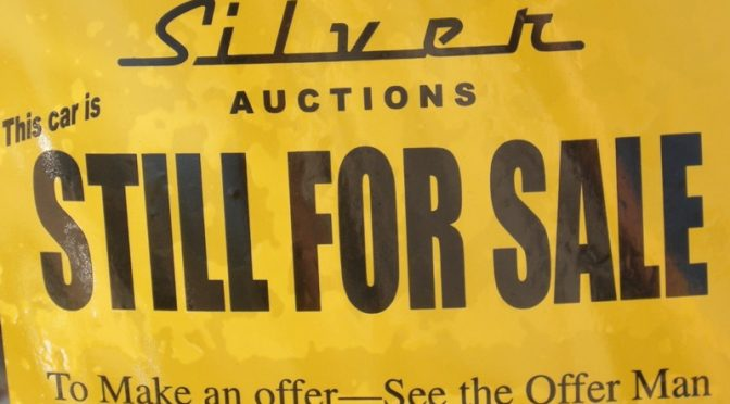 Silver Auction sticker