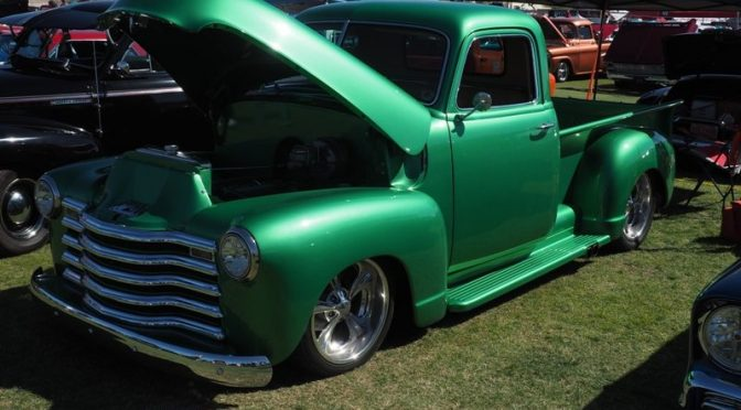 Green from Goodguys Spring National for St Patrick's Day