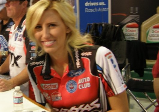 Courtney Force Earns Women's 100th Victory