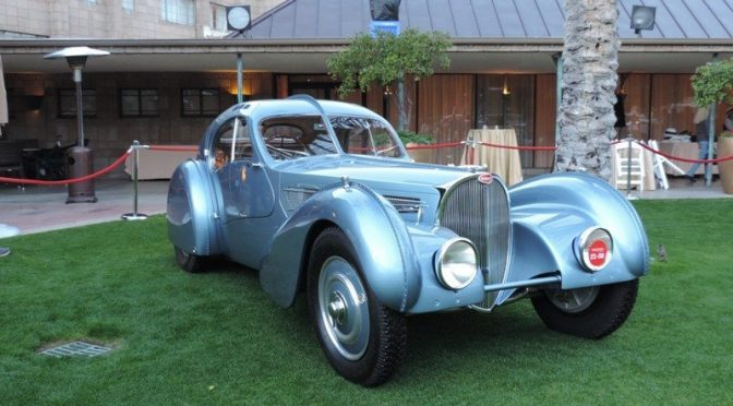 Bugatti Type 57SC Wins Arizona Concours d'Elegance