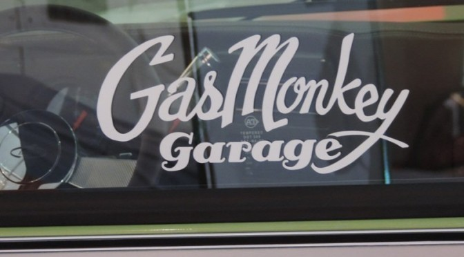 gas monkey garage at barrett jackson route 66 pub co. Black Bedroom Furniture Sets. Home Design Ideas