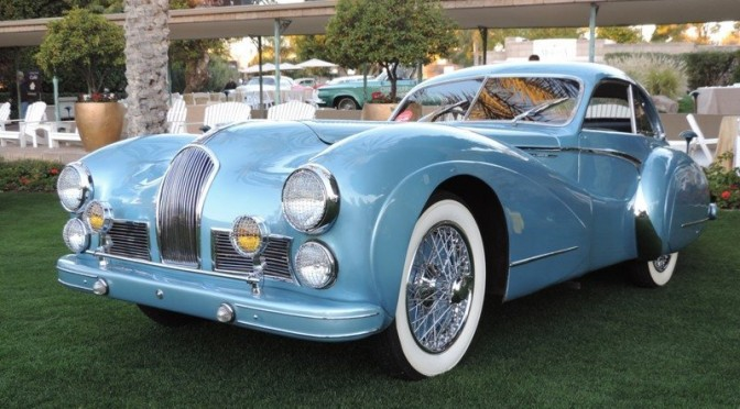Arizona Concours d'Elegance Picks Winners