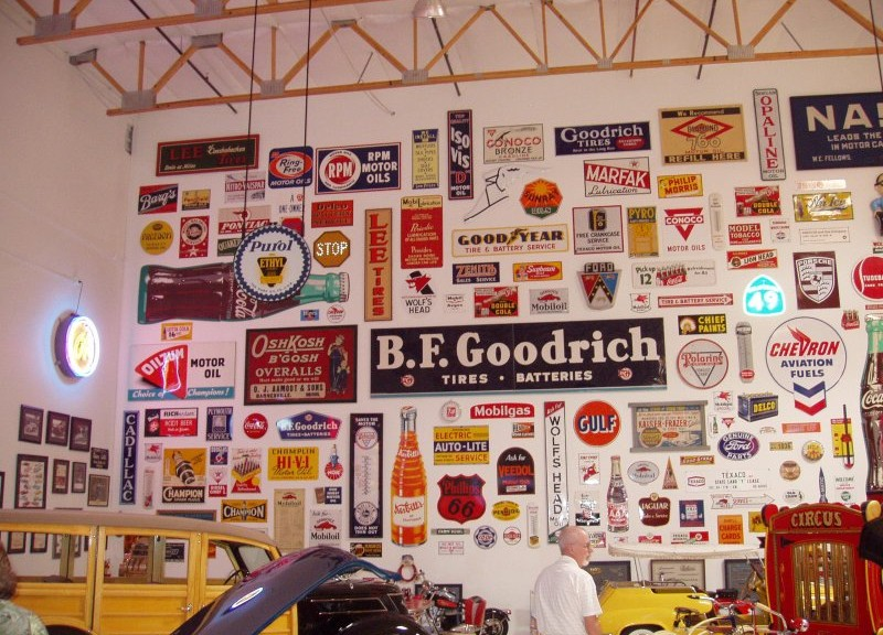 Automobilia-Sign-Collection-from-Ron-Pratte