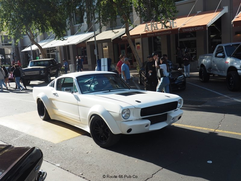 Mustang at High Street Cars and Coffee