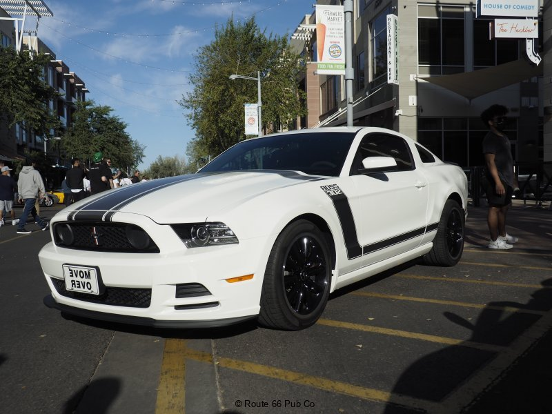 Boss 302 at High Street Cars and Coffee