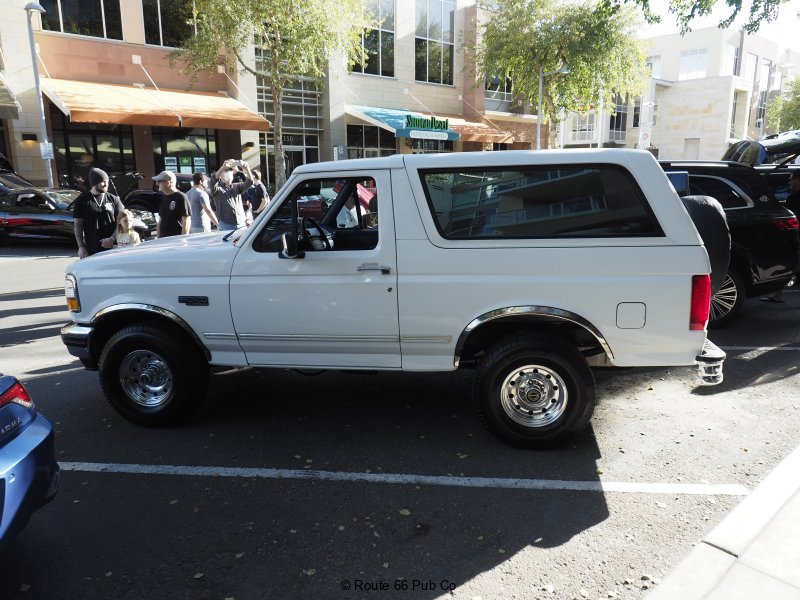 Bronco at High Street Cars and Coffee