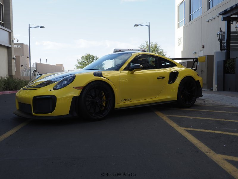 Porsche at High Street Cars and Coffee