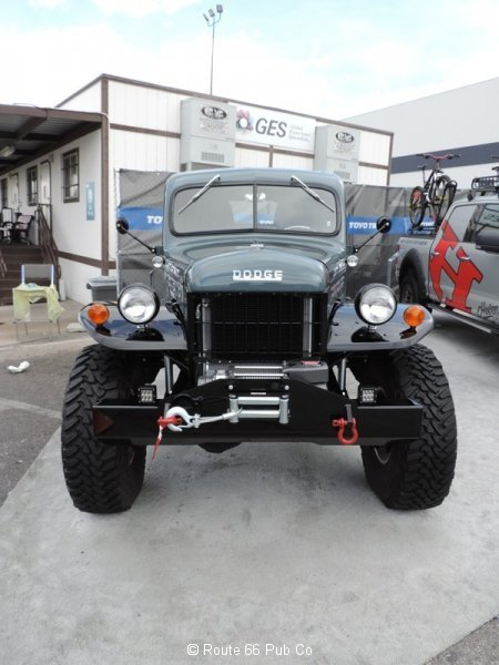Power Wagon 1949 Front View