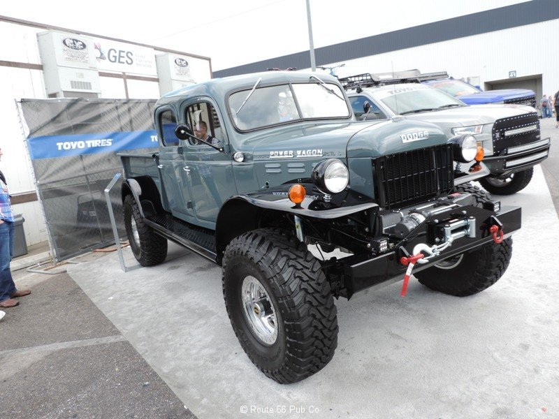 Power Wagon 1949 Passenger Front View