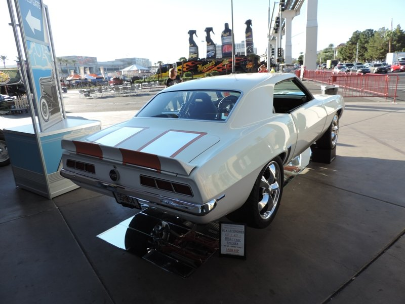 69 Camaro Rear View