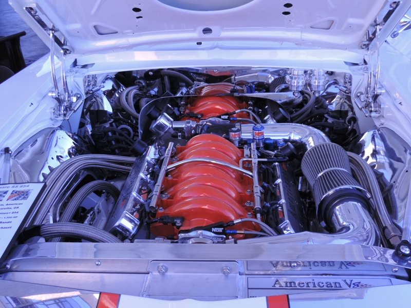 Camaro Engine Bay
