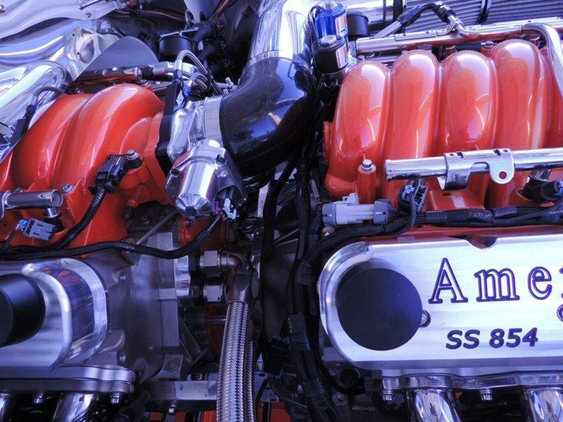 Engine Close Up 69 Camaro