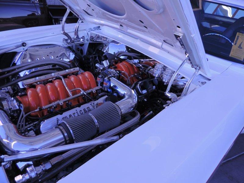 69 Camaro Engine View