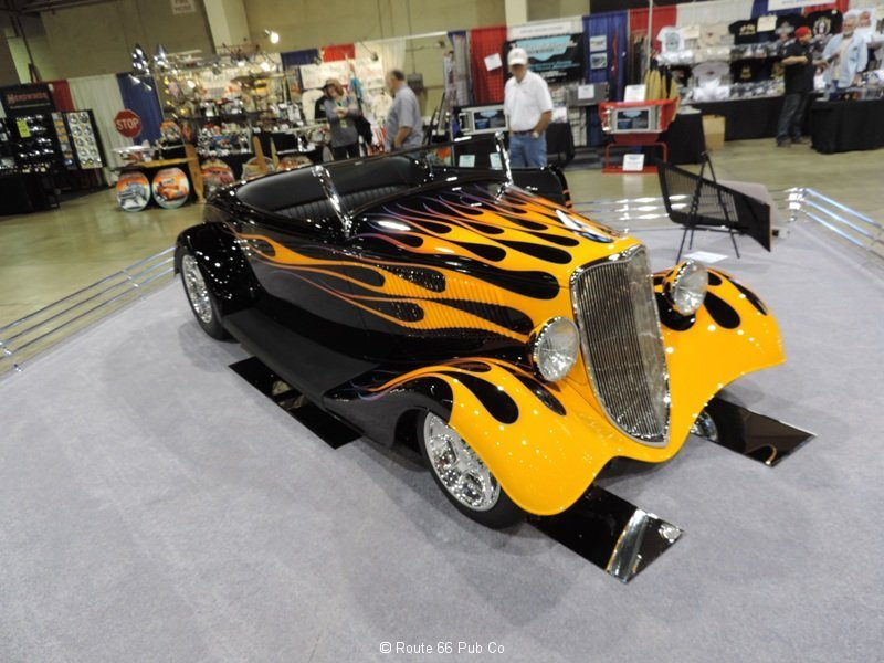 America\'s Most Beautiful Roadster Front View