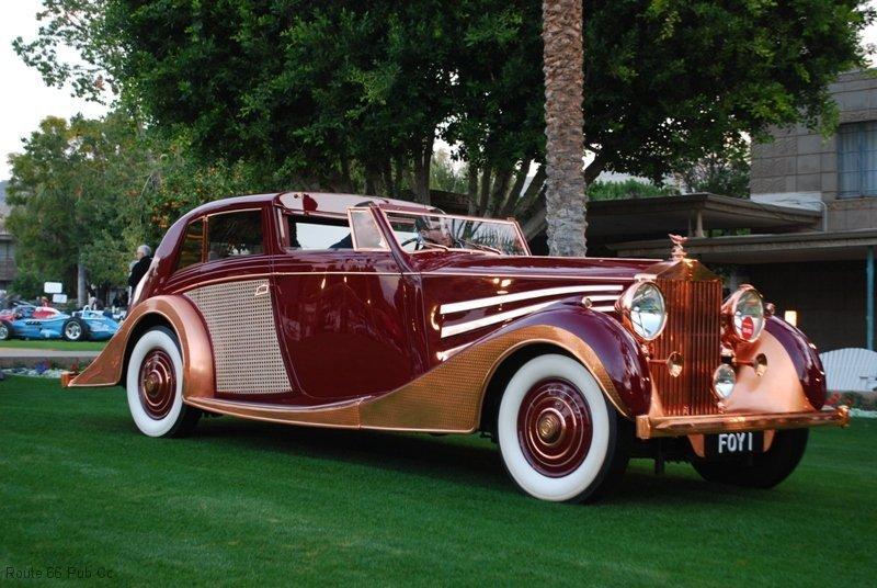 Arizona Concours D'Elegance Award Winner 37 Rolls Royce
