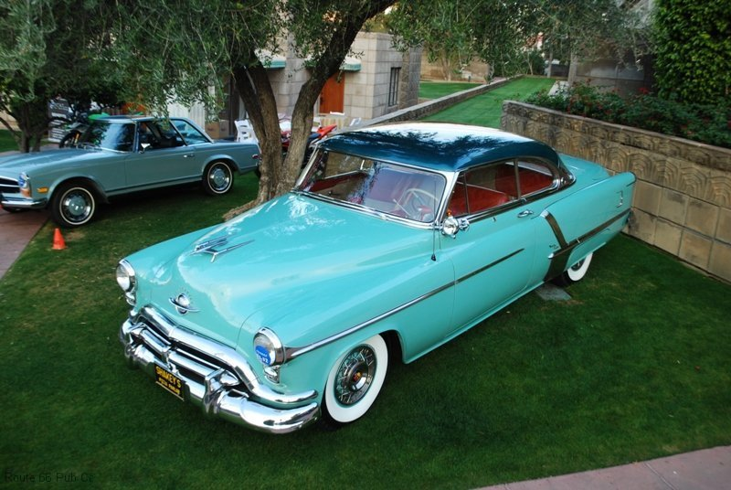 Arizona Concours D\'Elegance Award Winner 52 Olds
