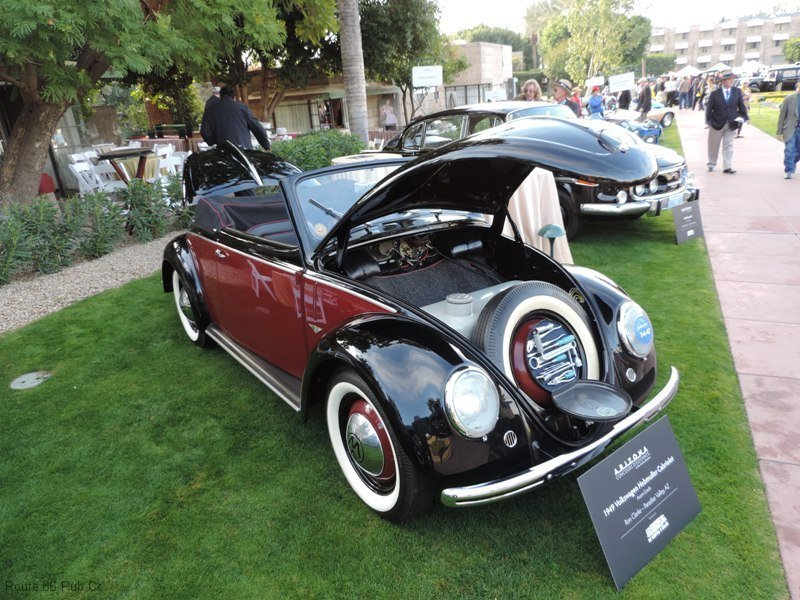 Arizona Concours D\'Elegance Award Winners VW Front