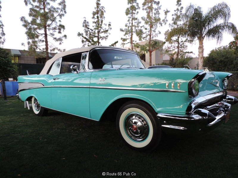 1957 Chevy Side View