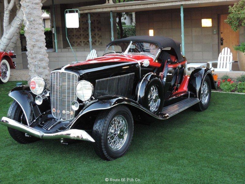 1933 Auburn Boat Tail Driver\'s Side